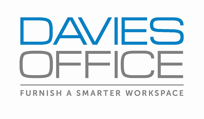 Elegant Davies Office White Background Small