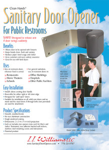 sanitary door opener brochure